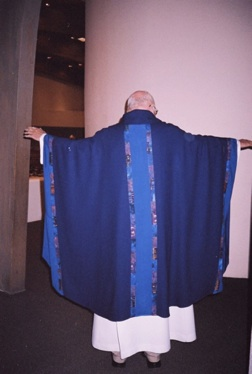 Advent Chasuble OL of the Most Holy Rosary Albuquerque, NM