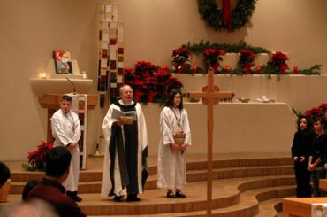 Christmas Celebrate! & Chasuble OL of the Most Holy Rosary Albuquerque, NM