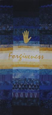 Year of Mercy Forgiveness Pieced fabric